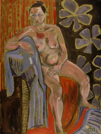 life painting - Newbiggin 7361