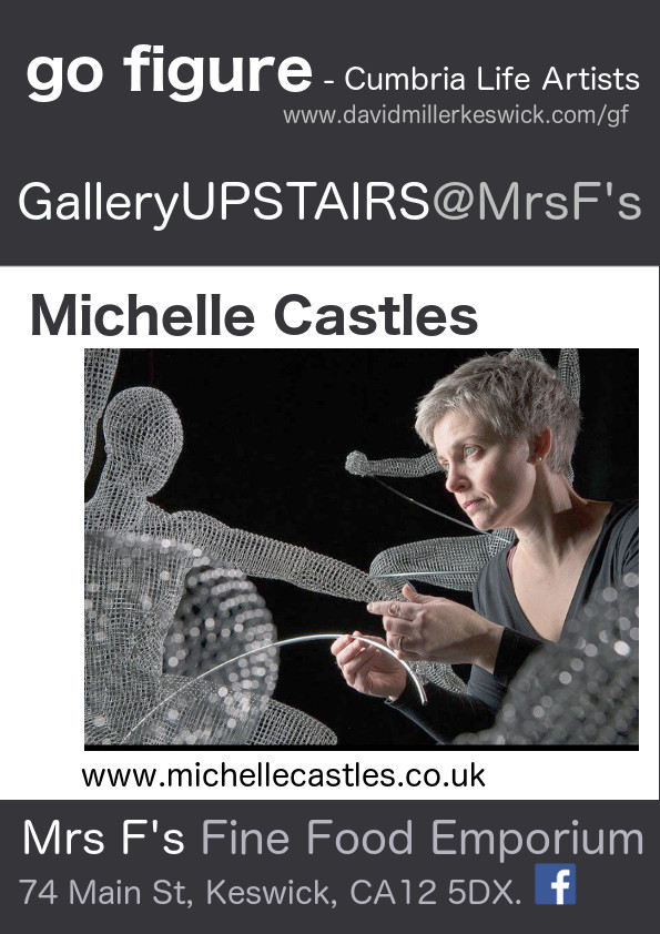 gofigure galleryUPSTAIRS poster Michelle