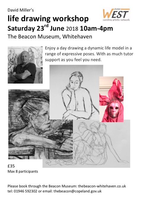 David Miller's life drawing workshop 23-06-18 p1