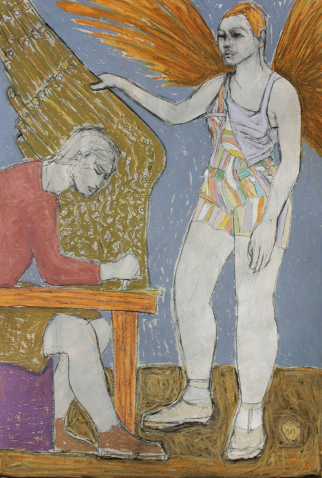 """""""the smith and Sophie"""", 50x70cm"""